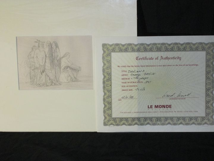 caitlin signed lithograph with C.O.A - great finds gallery