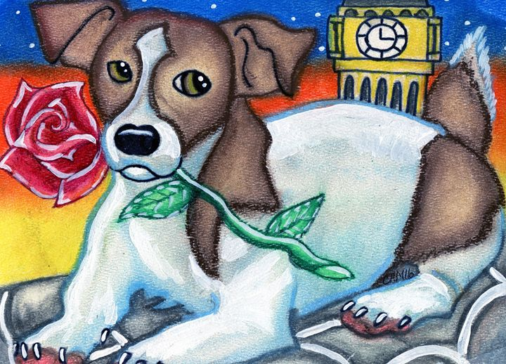Jack Russell Terrier - Crystal Ann Masters