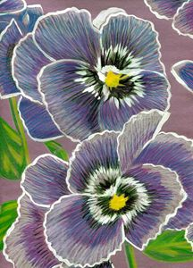 African Violet - Crystal Ann Masters