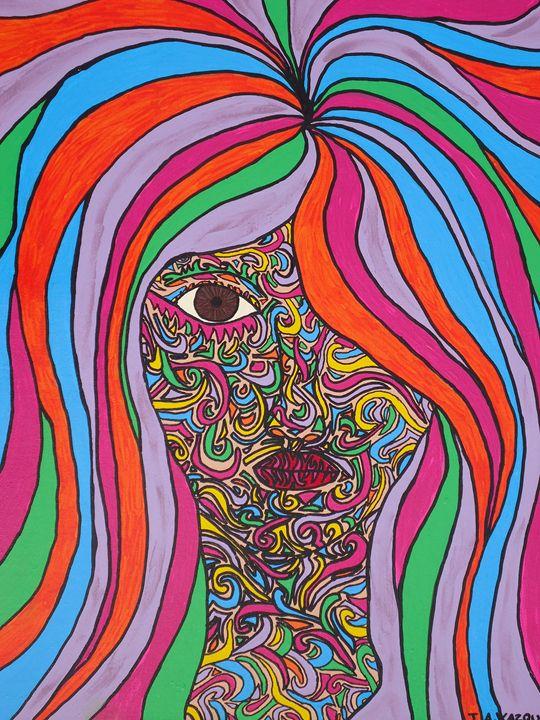 Color lives Within Us All - Jennifer Vazquez Art