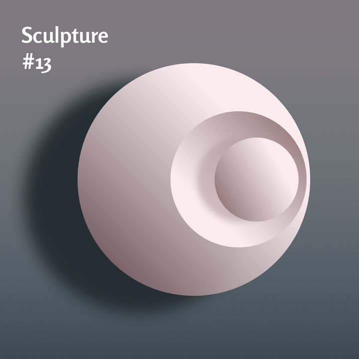 Sculpture #13 - Vectors for Print