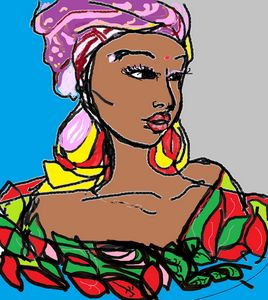 BLACK WOMAN IS BEAUTIFULL