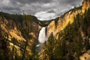 Lower Falls Wide