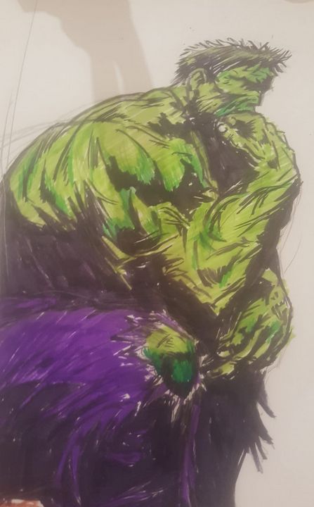 The Hulk - number 1 art by Jay!