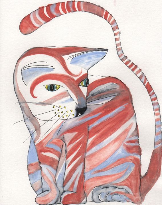 domesticated tiger - 1derrful art