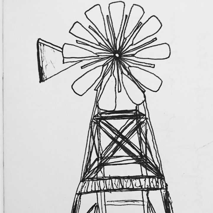 still windmill - 1derrful art