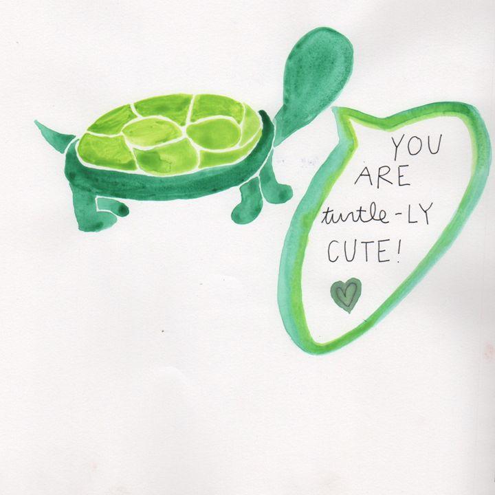 turtle-LY CUTE! - 1derrful art