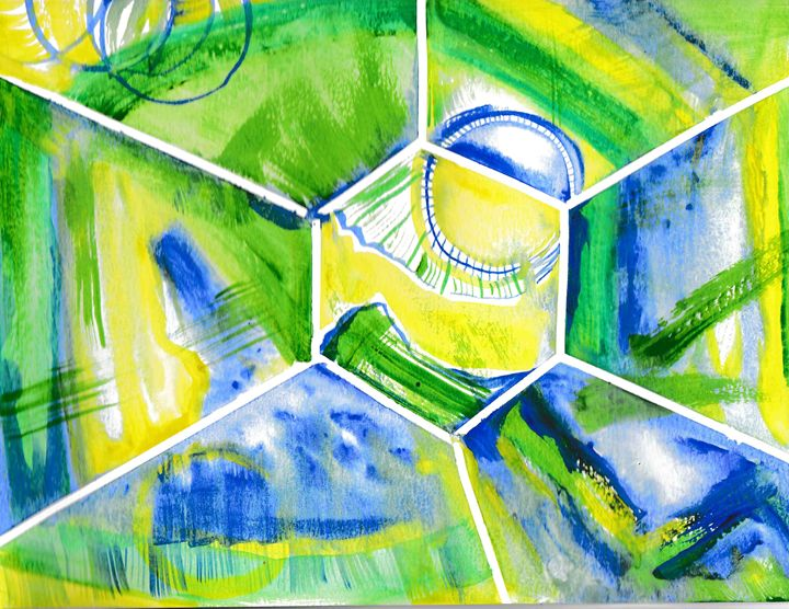 roundabout of rays - 1derrful art