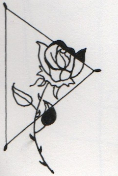 bloom black, wilt white - 1derrful art