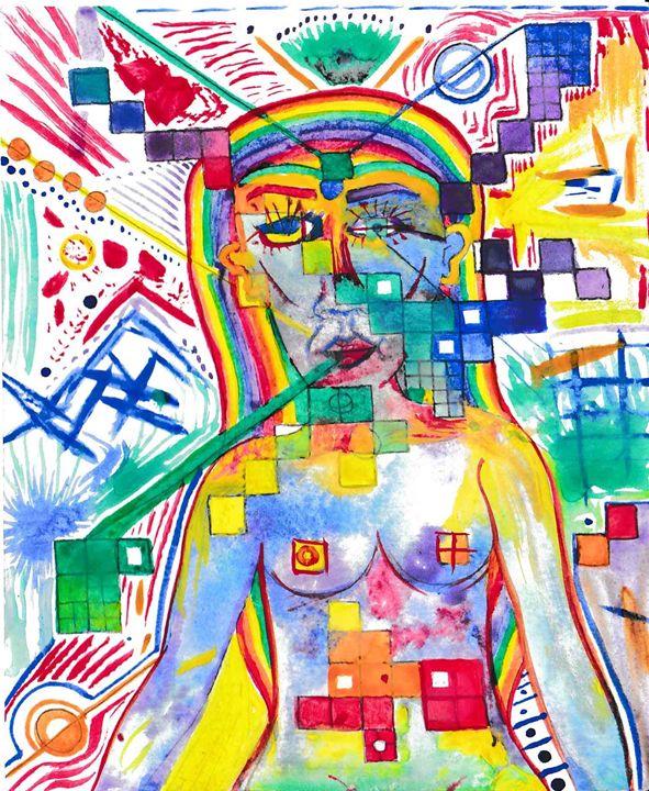 Rainbow - 1derrful art