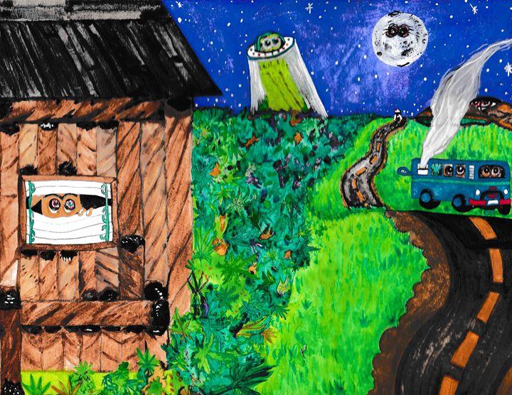 Backwoods - 1derrful art