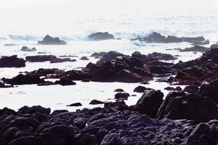 Rocks and Waves in the Sea - Yao Li