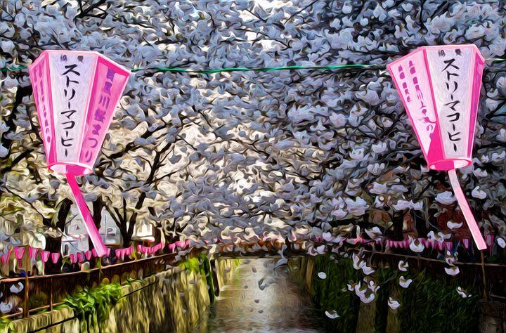 Spring Cherry Blossom - Hanabi