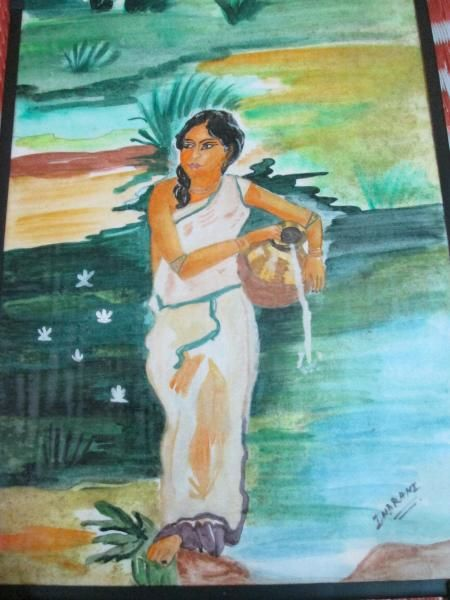 A lady - Indrani