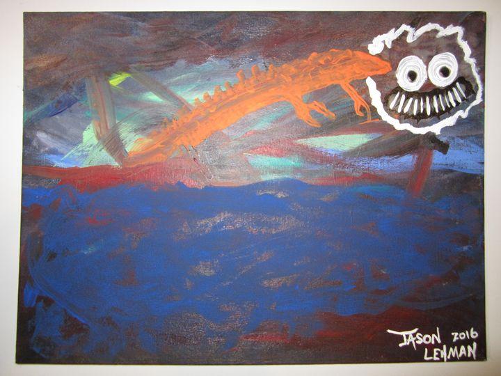 The Dragon - Jason Lehman's Twisted Art For Modern People