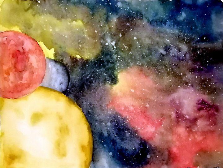 Three Moon Galaxy - J. T. Arts