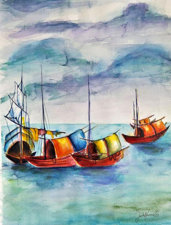 Fishing Boats - J. T. Arts