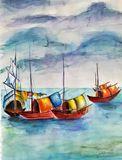 Fishing Boats (Medium)