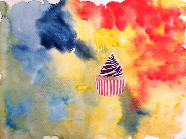 Space Cupcake - J. T. Arts