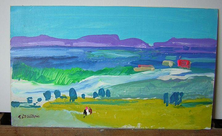 Paesaggio Italiano - Wilkens Hans Desiderio