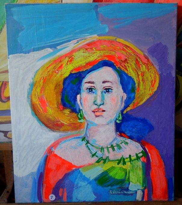 Donna col cappello Mary - Wilkens Hans Desiderio