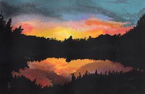 Sunset at Goldeneye