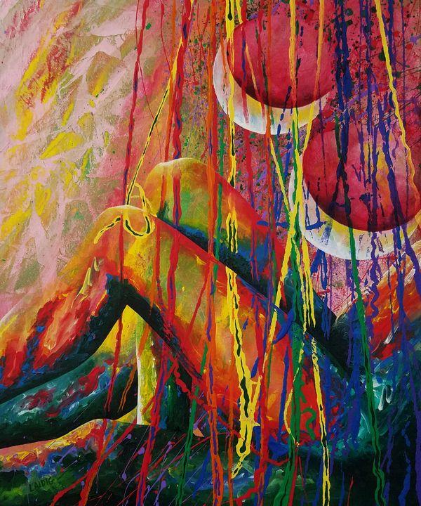 Lachesis' Fantoccini - Laidig Art Prints and Originals