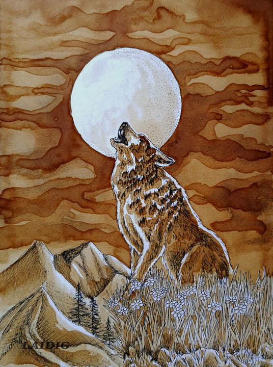 Howl For You - Laidig Art Prints and Originals