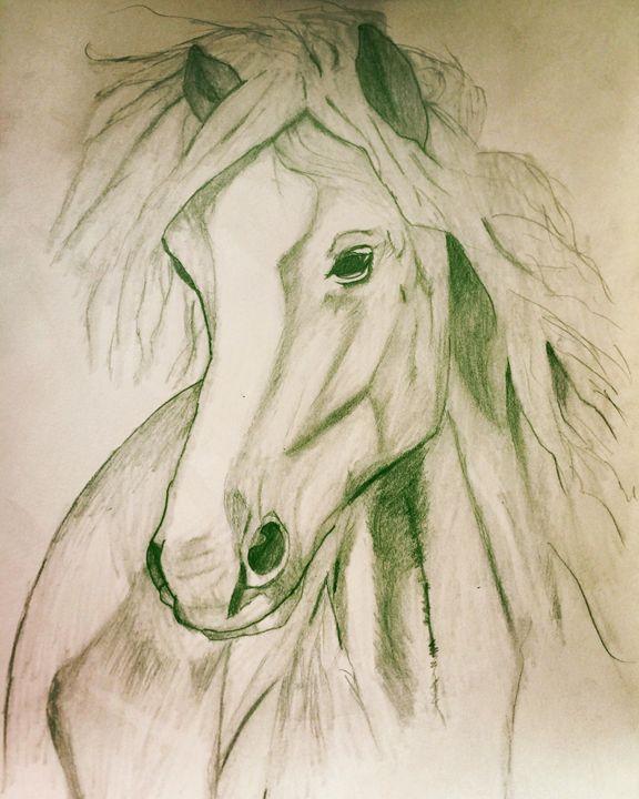 Mustang - Pencil & Paper