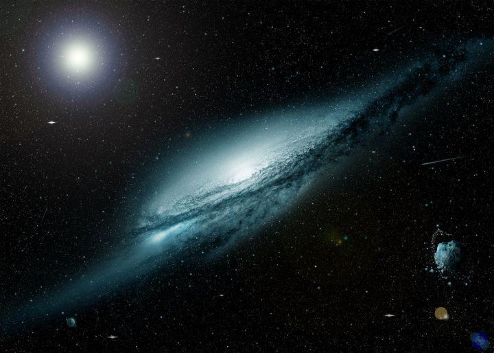 Space Galaxy - Mihai Catalin