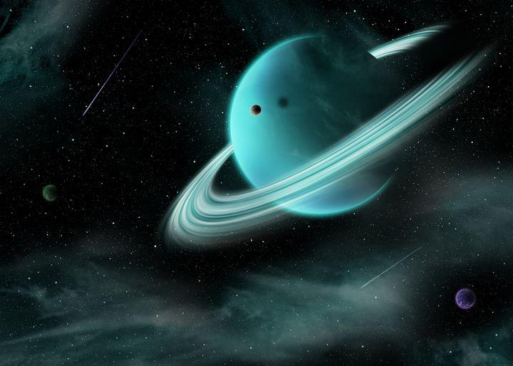 Planet rings - Mihai Catalin