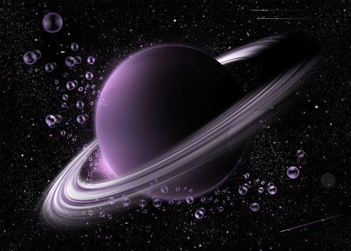 Purple rings - Mihai Catalin