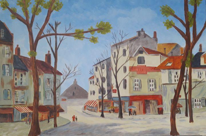 A Parisian street scene - Kevin - Artist