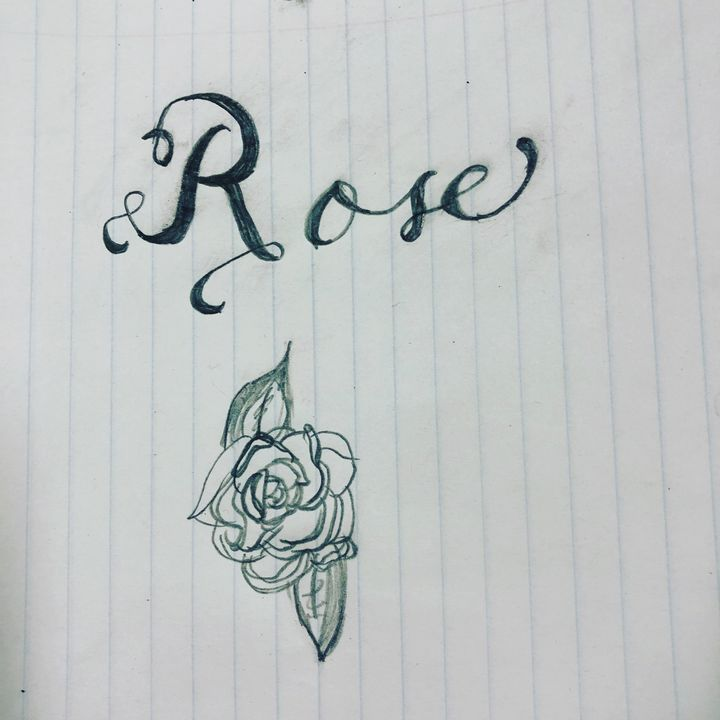 Rose calligraphy - Ryder