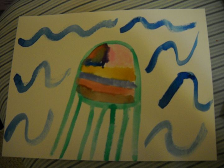 Jellyfish - Bryanna's Autism art