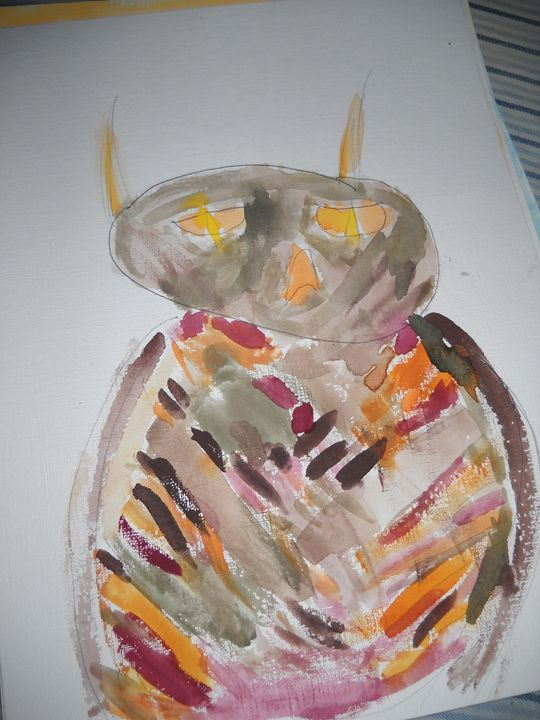 CalicOWL - Bryanna's Autism art