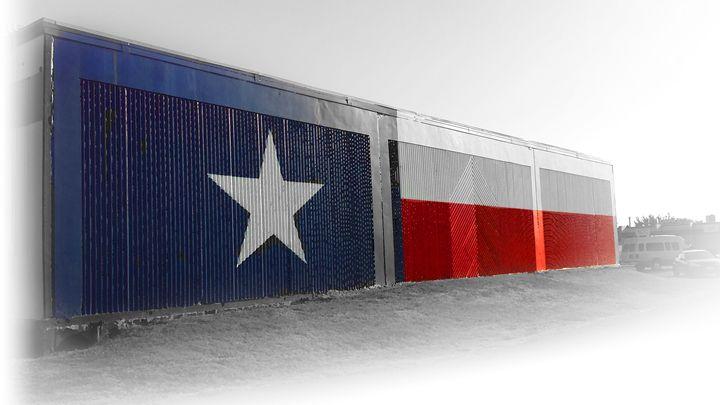 """Texas Flag"" - S.i.B Fine Art"