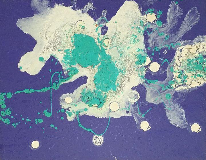 Nebula Painted with crackle-glazes 3 - iGallery