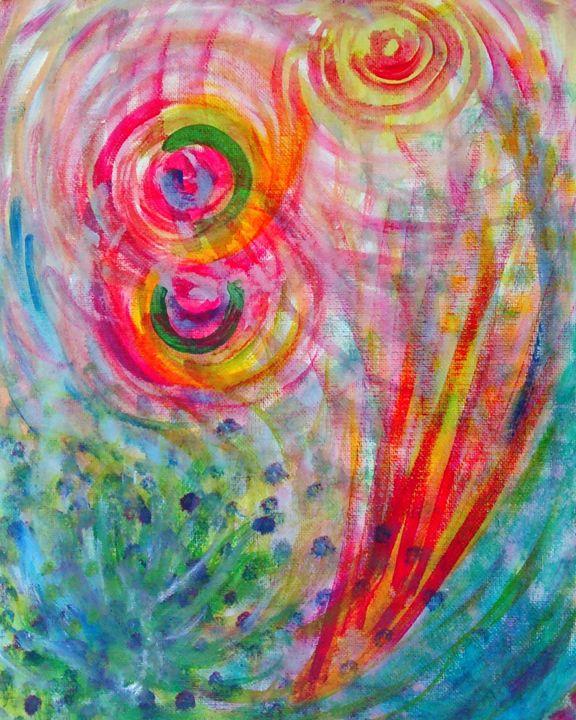 Sun Beams - Noni's Art