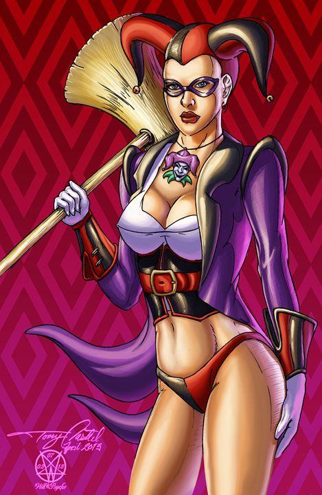 Harley Quinn - Darqueside Designs and Graffix