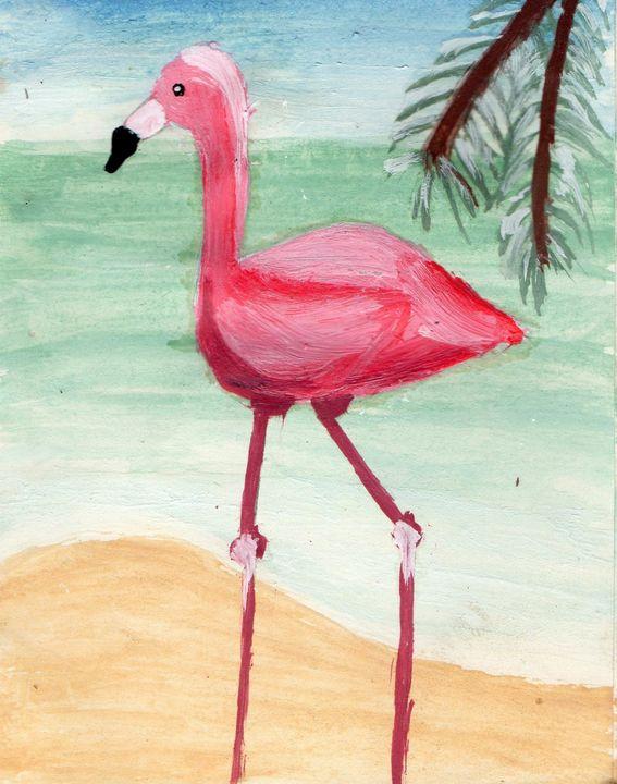 Flamingo - Rose Maria Rica
