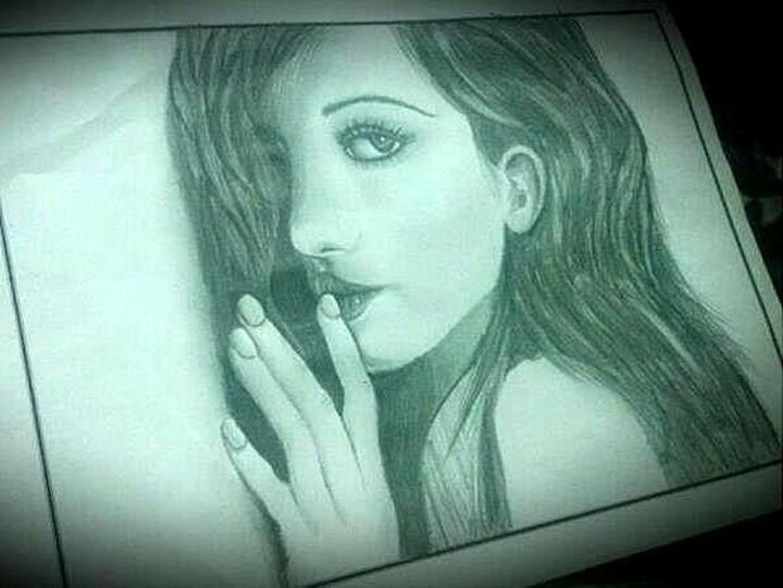 Portrait - Th Deep Inside.. - Rasika's Creations