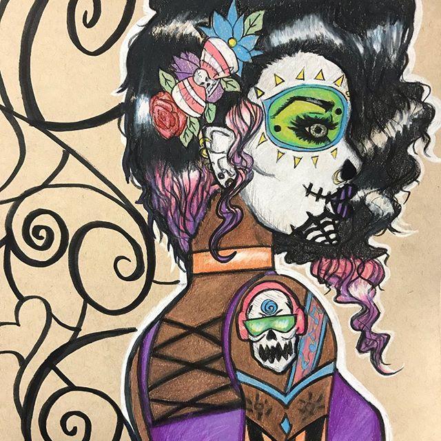 Skull Girl - DeviousDesigner