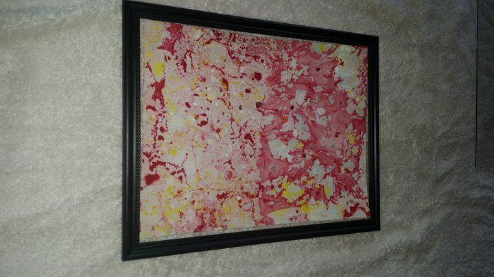 Amazing 8x10 contemporary art. - Krissy's Creations