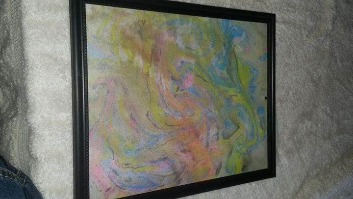 Original Abstract Painting - Krissy's Creations