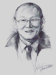 Portrait Of Coach Park Hang Seo