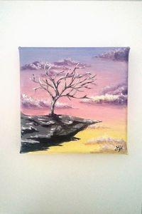 Mini Landscape Canvas Painting