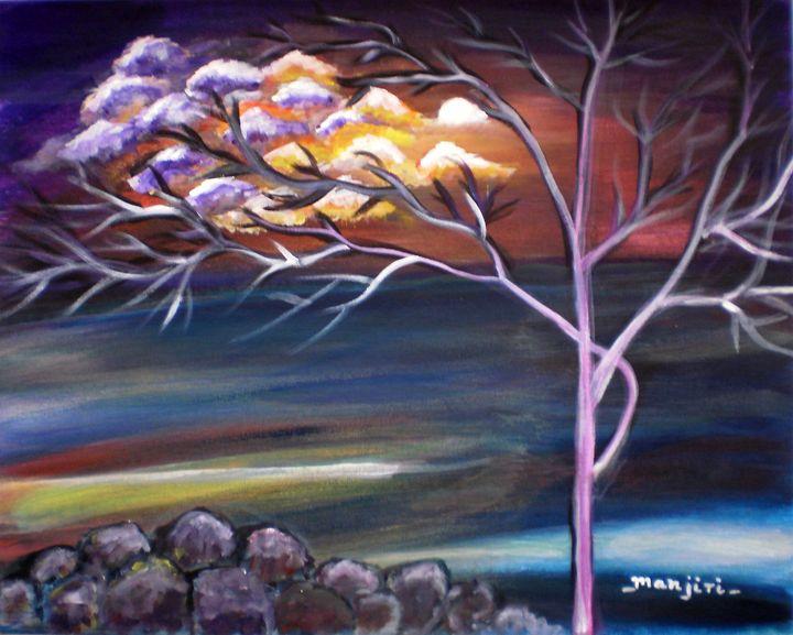 Mystic Evening - artbymanjiri