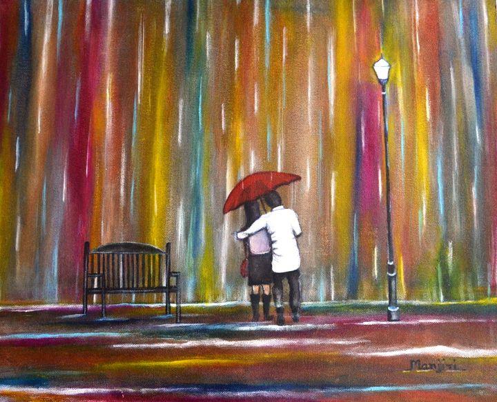 Love in the Rain - artbymanjiri