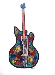 Guitar III from Series Rock On Pop